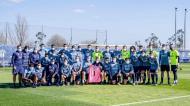 Equipa de futebol do FC Porto presta homenagem a Quintana