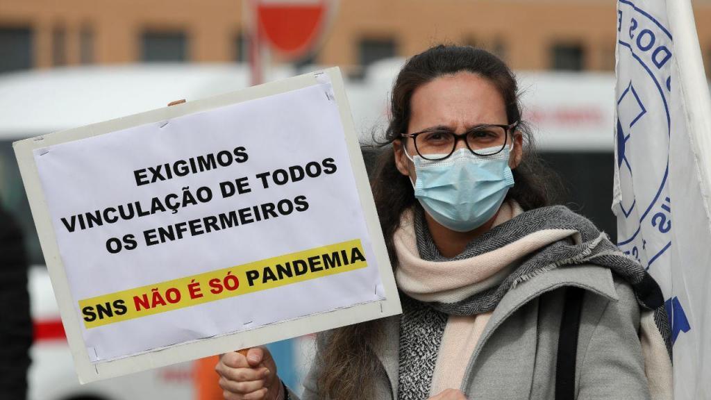 Concentração de enfermeiros dos Hospitais da Universidade de Coimbra