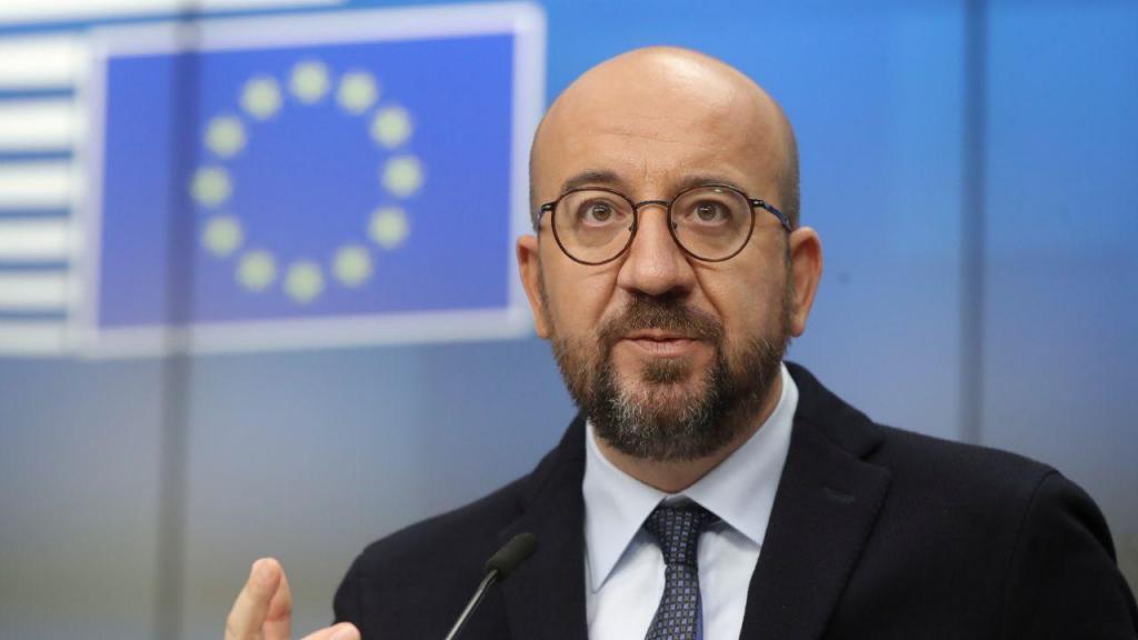 Charles Michel, presidente do Conselho Europeu
