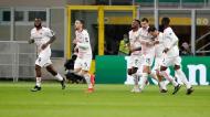 Milan-Estrela Vermelha (AP Photo/Antonio Calanni)