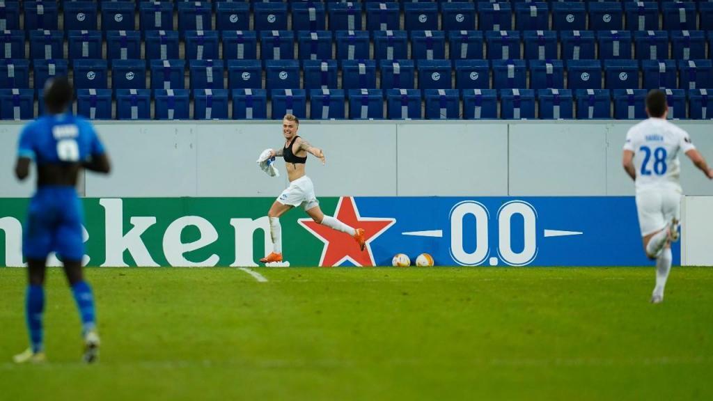 Hoffenheim-Molde (Uwe Anspach/Pool photo via AP)