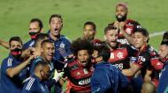 Flamengo sagra-se campeão brasileiro após final dramático (Andre Penner/AP)