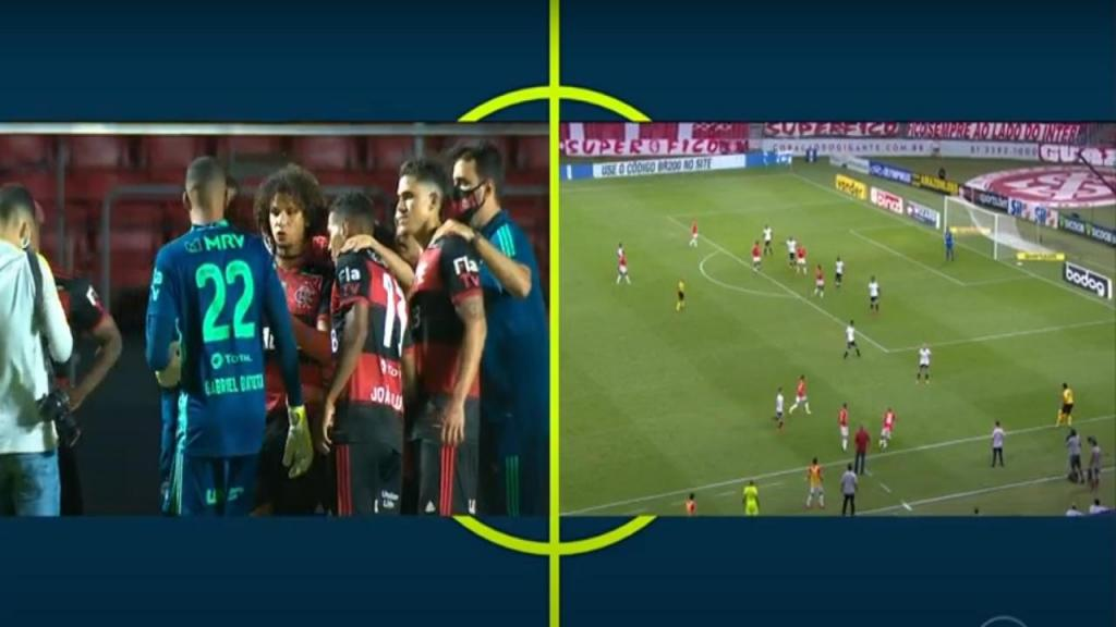 Flamengo e Internacional (Youtube)