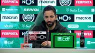 «O Sporting é que não ganha há muito tempo: nós é que temos de querer jogar estes jogos»