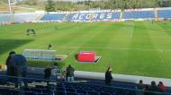 Estádio de São Miguel, no Santa Clara-Paços (Rui Paiva)