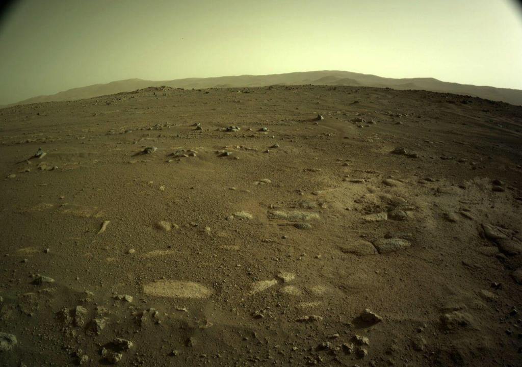 Novas imagens de Marte enviadas pela Perseverance