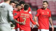 Seferovic fez o 1-0 no Benfica-Rio Ave (António Cotrim/LUSA)