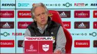 Jesus volta a falar sobre a troca de guarda-redes do Benfica