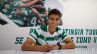 Sporting renovou com Hevertton Santos, capitão dos sub-23