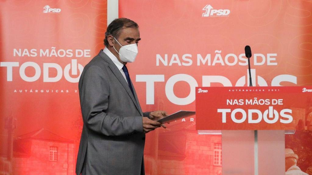 Conferência de imprensa do secretário-geral e coordenador autárquico nacional do PSD