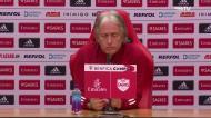 «Nestas situações mexo quatro, cinco, seis jogadores... e amanhã vai ser igual»