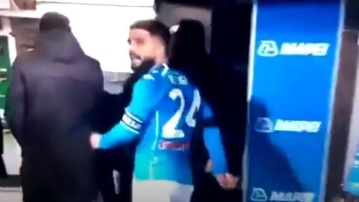Lorenzo Insigne furioso com empate do Nápoles frente ao Sassuolo (youtube)