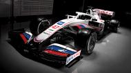O carro da Haas para a temporada 2021 na Fórmula 1 (Haas)