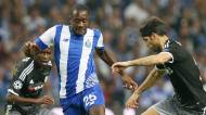 Giannelli Imbula pelo FC Porto em setembro de 2015, ante o Chelsea, para a Liga dos Campeões (Steven Governo/AP)