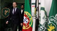Ruben Amorim e Frederico Varandas (Sporting CP)