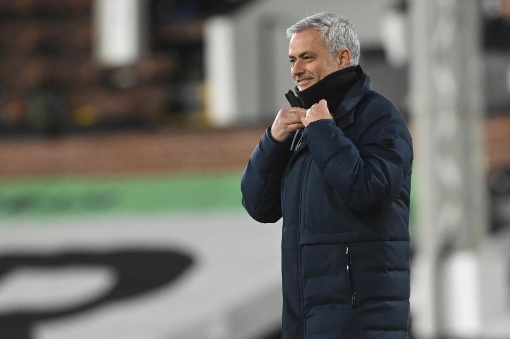 José Mourinho (AP Photo/Kirsty Wigglesworth, Pool)