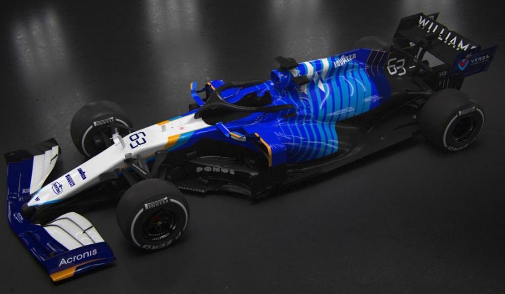 FW43B (Twitter Williams F1)
