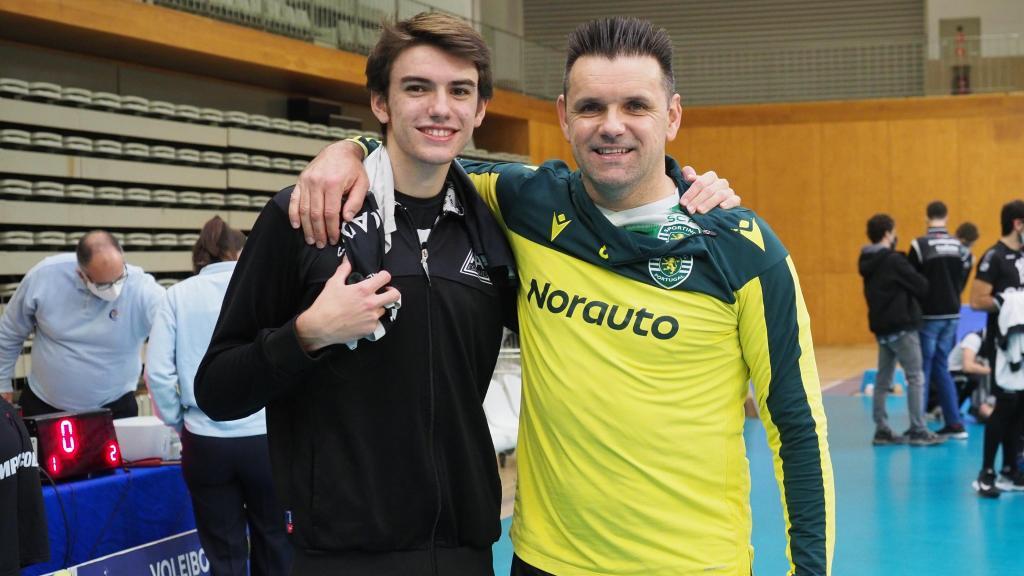 Miguel Maia defrontou o filho Guilherme na Taça de Portugal (foto: Jorge Cabral/FPV)