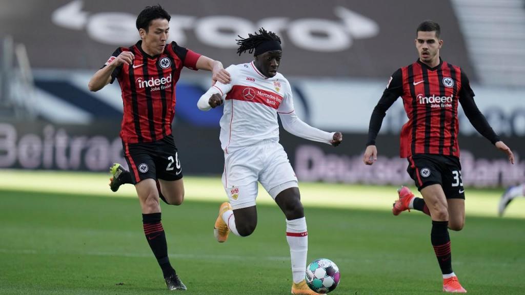 Eintracht Frankfurt-Estugarda