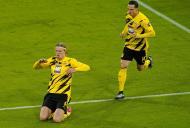 Bayern Munique-Borussia Dortmund (Guenter Schiffmann/Pool via AP)