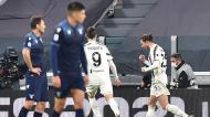 Rebiot festeja o 1-1 da Juventus ante a Lazio (Alessandro Di Marco/EPA)