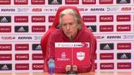 «Flamengo? Quero cumprir o meu contrato com o Benfica»