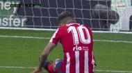 «Buraco» na defesa do Real, Correa atrapalha-se e desperdiça o 2-0