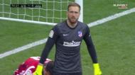 «MONSTRO»! Oblak nega o golo a Benzema com duas grandes defesas
