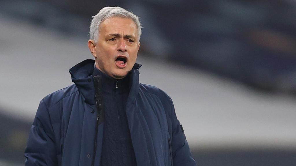 José Mourinho no Tottenham-Crystal Palace (Julian Finney/EPA)