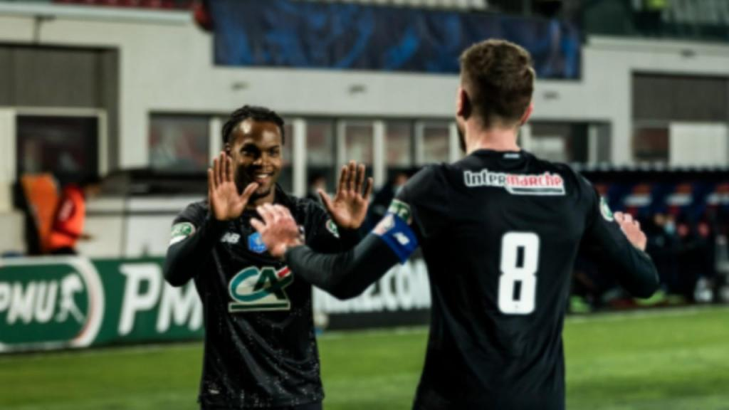 Renato Sanches e Xeka (twitter Lille)