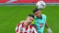 Domingos Duarte e Oihan Sancet no Athletic Bilbao-Granada (Miguel Tona/EPA)