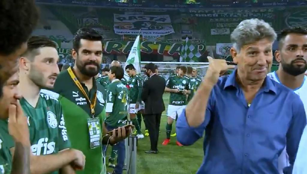 Renato Gaúcho (Imagens Globoesporte)