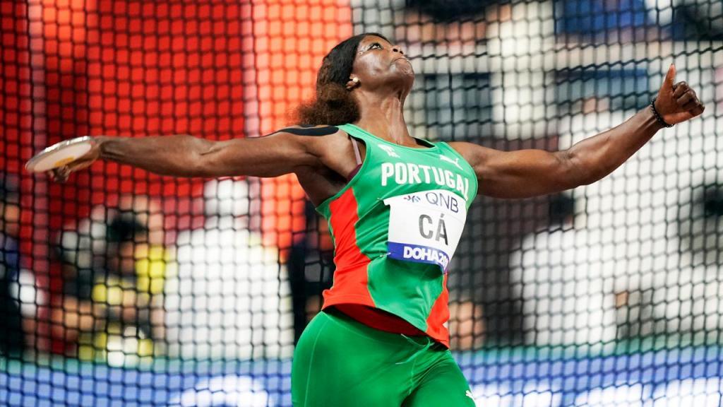 Liliana Cá, nos Mundiais de Atletismo de 2019, no Qatar (David J. Phillip/AP)