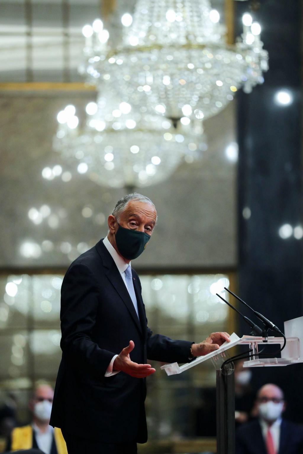 Marcelo Rebelo de Sousa assiste a cerimónia ecuménica na Câmara Municipal do Porto