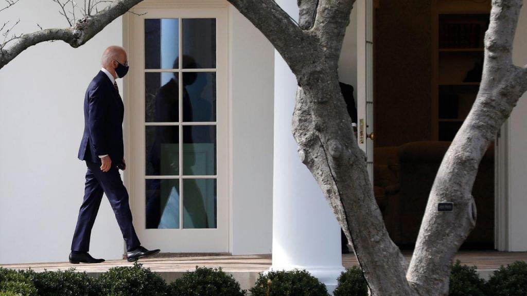 Joe Biden regressa à Casa Branca