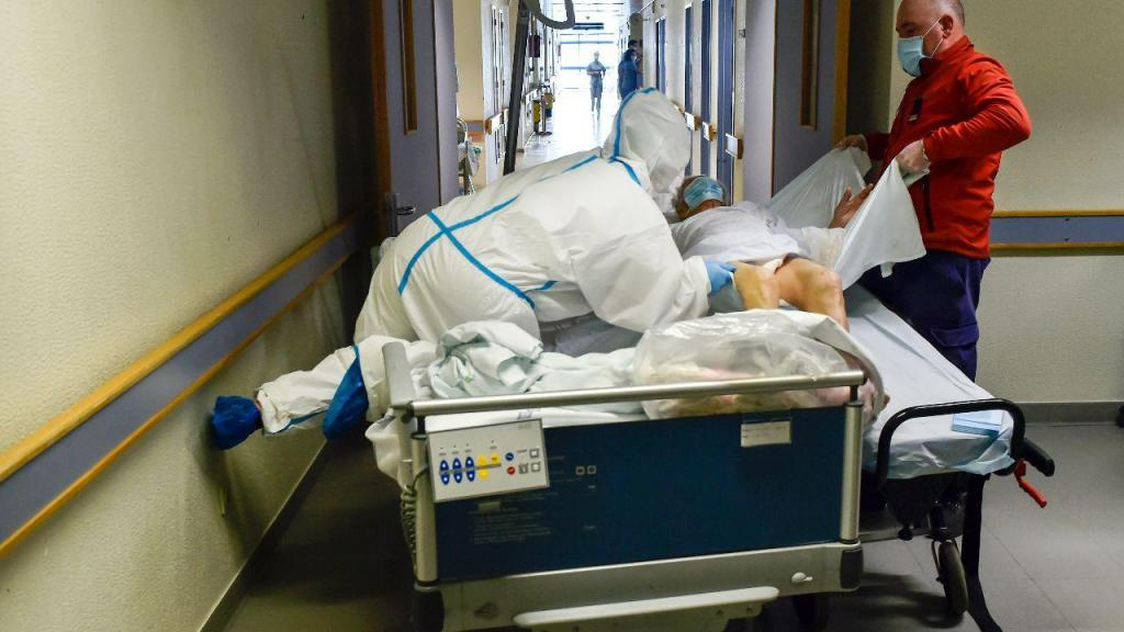 Enfermaria do Hospital de Viseu um ano após dar entrada o primeiro doente com covid-19