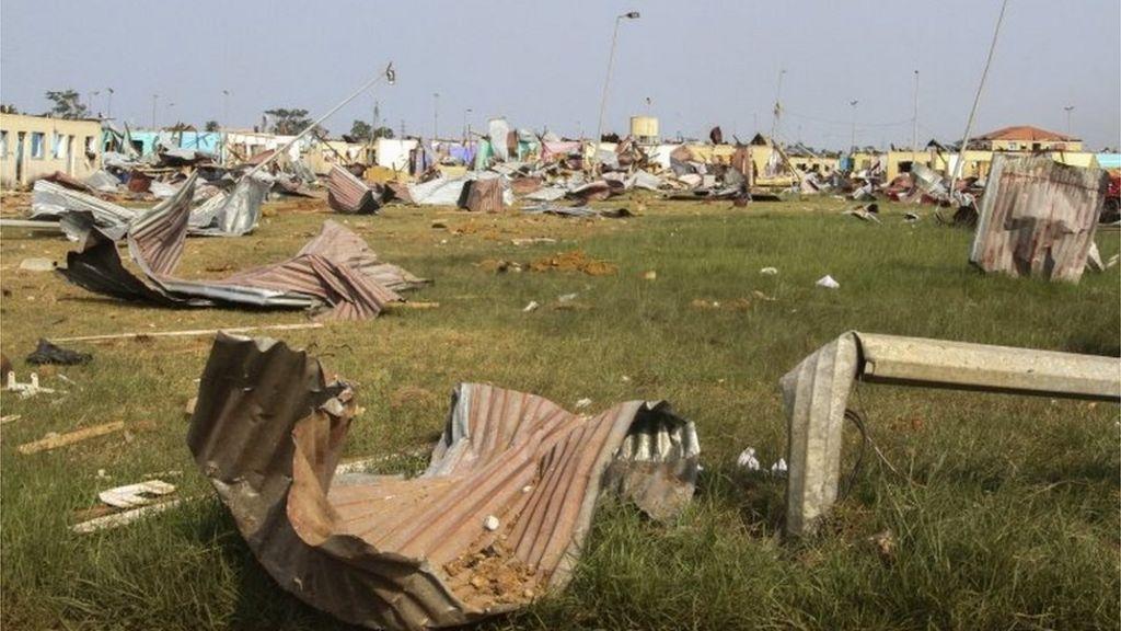 Explosões na Guiné Equatorial