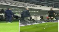 De costas para um golo e travessuras: como Mourinho viu o Tottenham-Palace