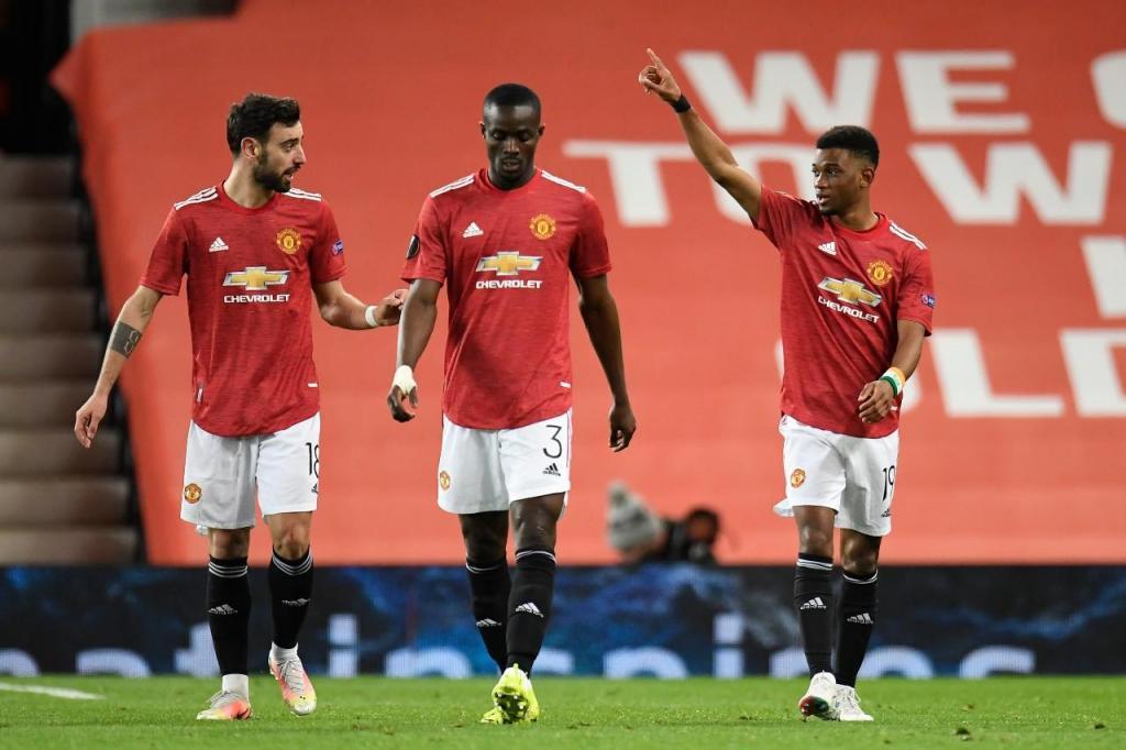 Amad Diallo estreou-se a marcar pelo Manchester United