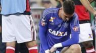 2. Em 2017, Thiago, guarda-redes do Flamengo, foi acusado de urinar em campo