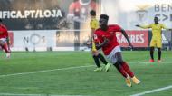 Luís Semedo pelo Benfica, na Liga Revelação