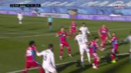 Benzema empata de cabeça na receção do Real Madrid ao Elche