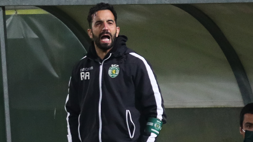 Ruben Amorim no Tondela-Sporting (Paulo Novais/LUSA)