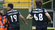 Tiago Tomás assinou o golo da vitória do Sporting em Tondela (Paulo Novais/LUSA)
