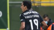 Tiago Tomás decidiu o Tondela-Sporting (Paulo Novais/LUSA)