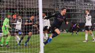 Manchester City abriu marcador ante o Fulham com golo de John Stones (Adam Davy/POOL)