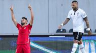 Lourency festeja o 0-2 no V. Guimarães-Gil Vicente (Hugo Delgado/LUSA)