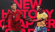 Cristiano Ronaldo e Pelé (Instagram CR7)