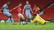 Manchester United-West Ham (AP Photo/Clive Brunskill,Pool)