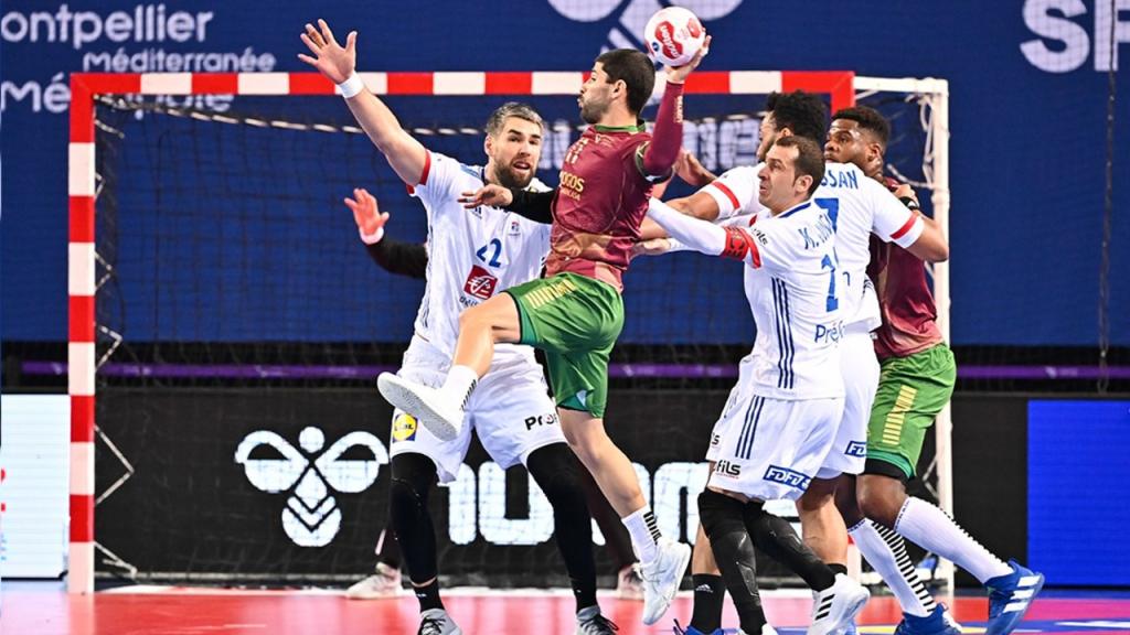 Pré-olímpico de andebol: Portugal-França (IHF)